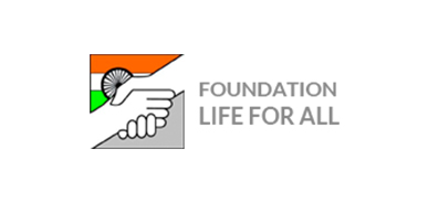logo lifeforall foundation l