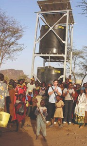 Women empowerment, food aid, borehole construction Image 1